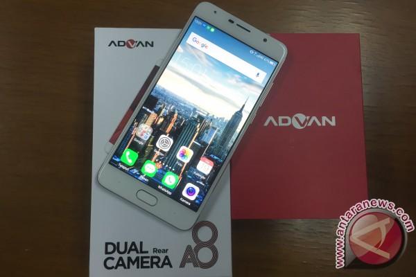 Advan A8: Ponsel Kamera Ganda Dengan Keamanan Berlapis
