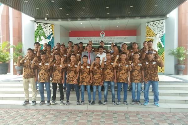 Ini wakil Indonesia di turnamen sepak bola Barcelona
