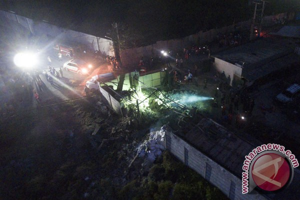 Welding sparks triggered blaze in Tangerang's fireworks factory