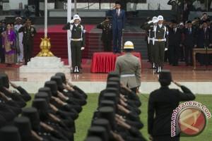Presiden jadi  inspektur upacara Harii Kesaktian Pancasila