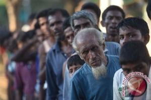 Pengungsi Rohingya di Bangladesh capai 536.000