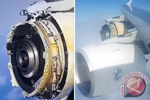 Prancis dalami penyebab mesin A380 Air France meledak di udara
