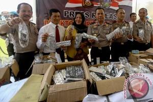 Rilis Obat-Obatan Ilegal Di Palembang