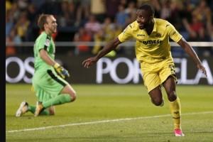 Villarreal gunduli Eibar 3-0, Bakambu hattrick