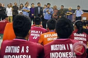 Jusuf Kalla berharap bulu tangkis dongkrak prestasi olahraga