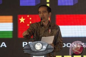 Jokowi beberkan angka-angka ekonomi Indonesia ke pengusaha