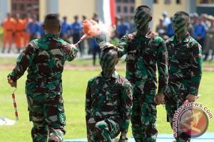 Atraksi Seni Bela Diri TNI