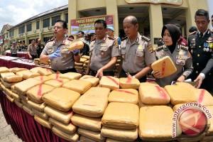 Polda Metro Jaya tembak pemilik 386 kg ganja