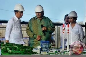 Peresmian PLTU Banten