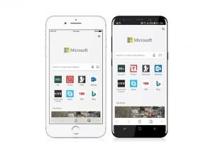 Pratinjau Microsoft Edge mendarat di iOS dan Android