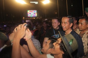 Kemarin Presiden nonton festival musik, moratorium reklamasi Teluk Jakarta dicabut