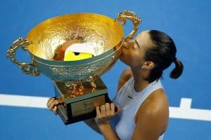 Garcia taklukkan Halep untuk menangi final China Terbuka