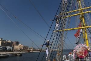 KRI Bima Suci tiba di Pelabuhan Port Said Mesir