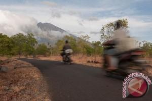 PVMBG petakan kondisi kawah Gunung Agung