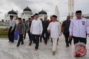 Menag Tinjau Masjid Raya Baiturrahman