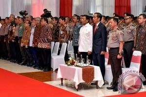 Presiden Joko Widodo buka apel Kasatwil 2017