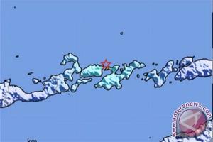 Gempa bumi guncang tiga kabupaten NTT