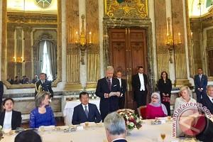 Ketika Raja Philippe ajak Jusuf Kalla makan sup labu