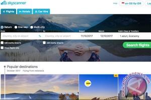 Skyscanner punya pengguna aktif 60 juta per bulan