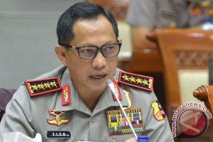 Tujuh kutipan terpilih, Jakarta hadapi musim hujan, dan komentar Kapolri soal Densus Tipikor