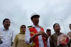 Presiden Jokowi resmikan dua ruas tol di Sumut