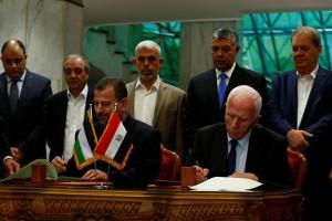 Saudi sambut baik rekonsiliasi Palestina