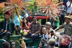 Pemprov menggelar pelepasan Gubernur Djarot di Balai Kota