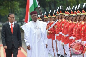 Jokowi receives President Issoufou of Niger