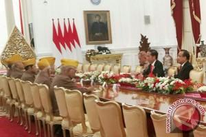 Presiden Jokowi terima pengurus LVRI
