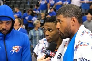 Diperkuat trio baru, Thunder libas Knicks 105-84