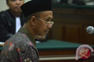 Sidang Perdana Kasus Korupsi Bupati Pamekasan