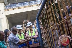 Tinjau Proyek Stasiun MRT Haji Nawi