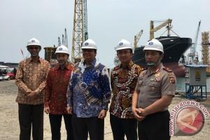 Menteri perindustrian resmikan dua fasilitas dok kapal PT SMI