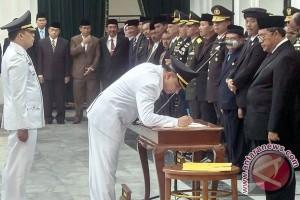 Pelantikan Walikota Cimahi