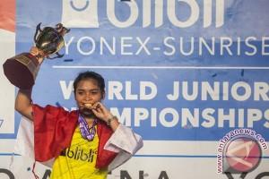 Target di kejuaraan dunia junior 2017 tercapai