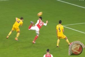 Gol kalajengking Olivier Giroud jadi Gol Terbaik Tahun Ini
