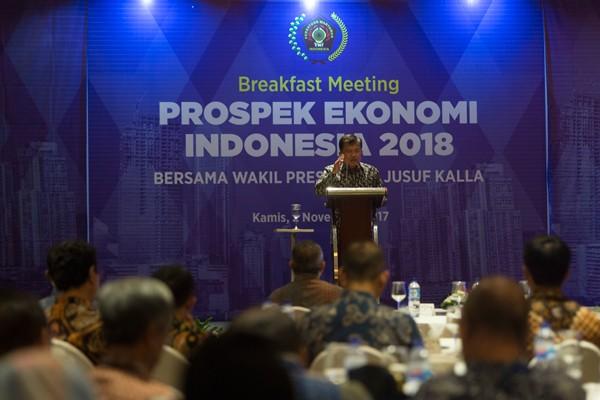 Tahun politik hanya hangat di pembicaraan, kata Wapres