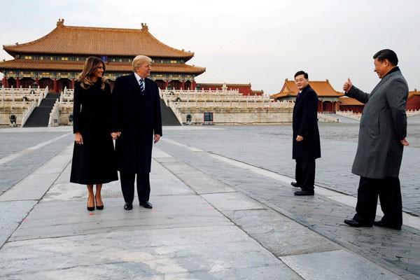 20171109antarafoto trump jinping china 091117 » Trump Tekan Beijing Perihal Perdagangan Dan Korea Utara