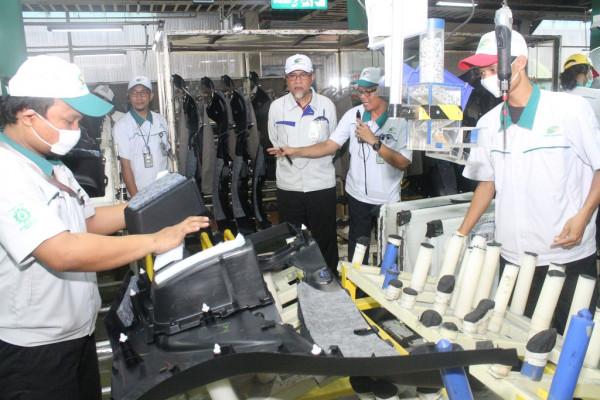 Toyota Indonesia perkuat daya saing rantai suplai industri otomotif