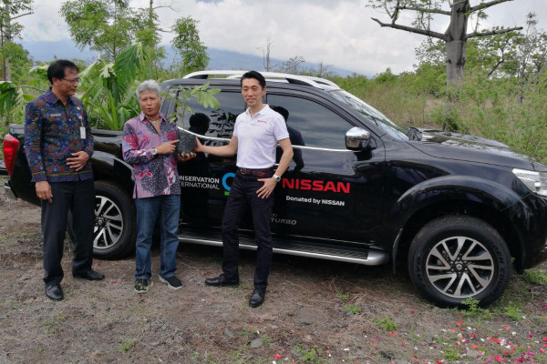 Nissan gandeng CI Indonesia, reforestasi bentang alam Gunung Agung