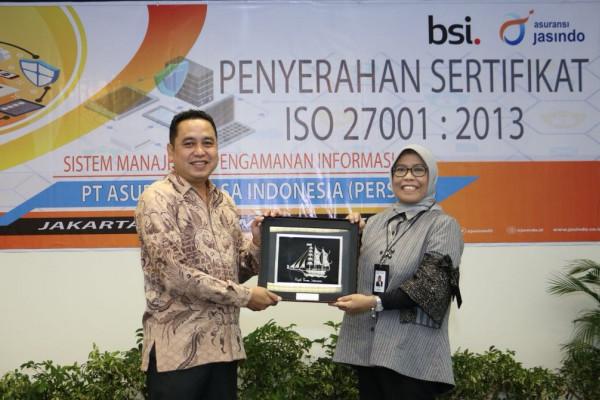 Amankan aset informasi, Jasindo bekali diri dengan ISO27001:2013