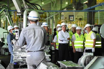 Pabrik aluminium Inalum di Kaltara tunggu pasokan listrik