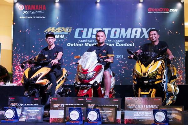 NMAX asal Bandung jadi pemenang kontes modifikasi Customaxi