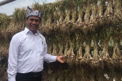 Mentan komitmen amankan ketersediaan bawang putih saat Ramadan