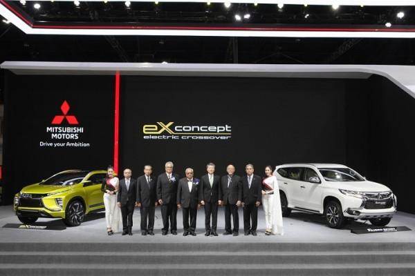 Setelah debut di TMS, Mitsubishi boyong eX ke Bangkok