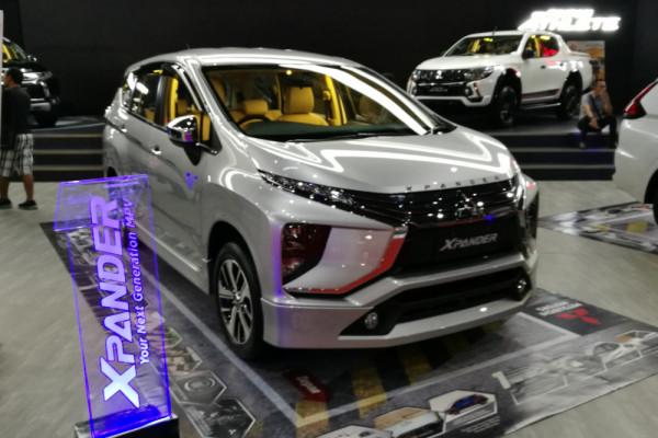 Mitsubishi Xpander terbaru dan e-Evolution akan tampil di GIIAS 2018
