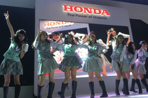 JKT48 bikin panggung Honda penuh sesak