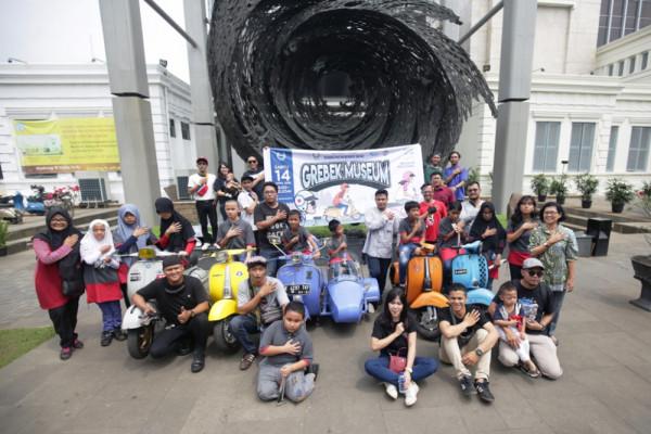 Vespagraphy ajak penyandang disabilitas keliling museum
