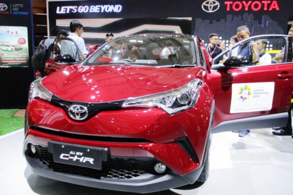 Toyota hadirkan 13 kendaraan termasuk empat mobil terbaru di IIMS