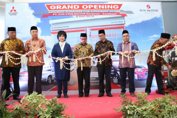 Mitsubishi buka diler kendaraan penumpang ke-116 di Surabaya